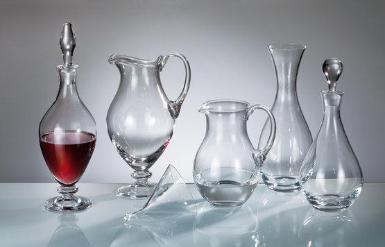 Wijn Flessen en Karaffen